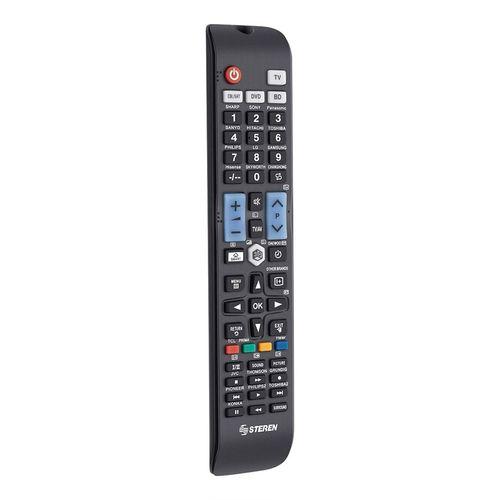 Control remoto para televisiones inteligentes y 3d