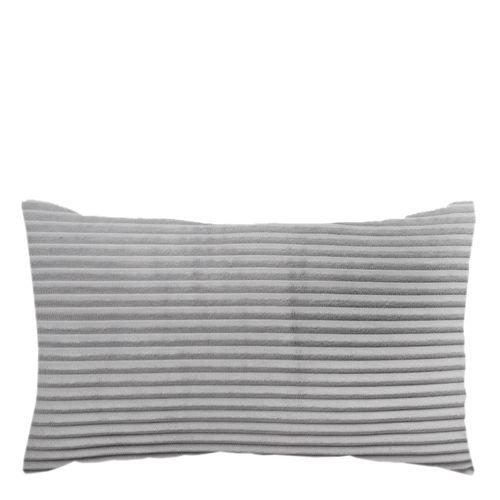 Body pillow corduroy silver