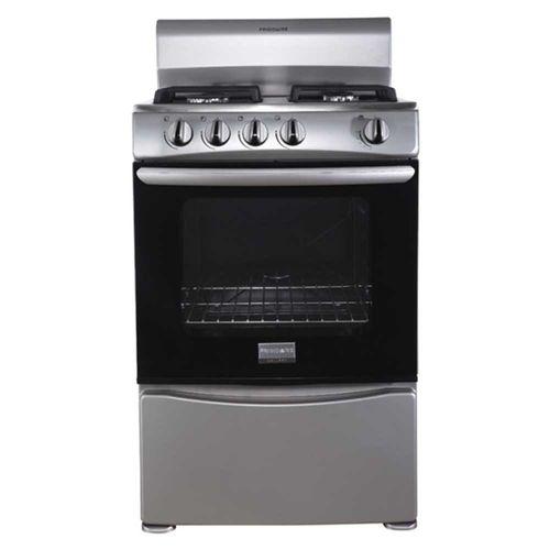 Cocina frigidaire a gas 24 gris