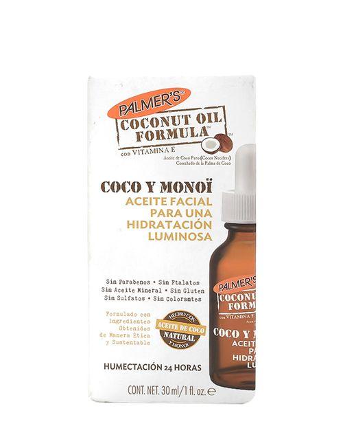 Aceite Facial Hidratante Coconut Monoi Luminous 30ml