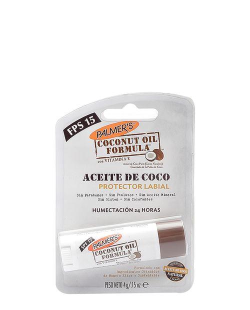 Bálsamo para Labios de Aceite de Coco Fps15