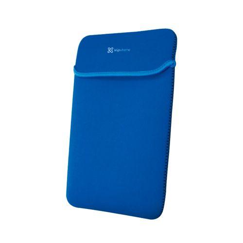 Funda porta laptop 15.6 azul reversible