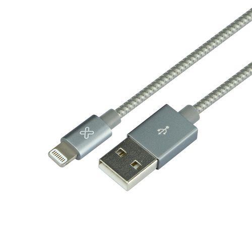 Cable apple usb gris 50 cm