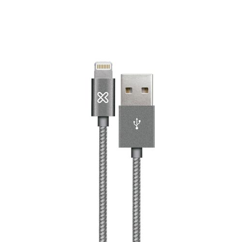 Cable apple usb plateado 2m