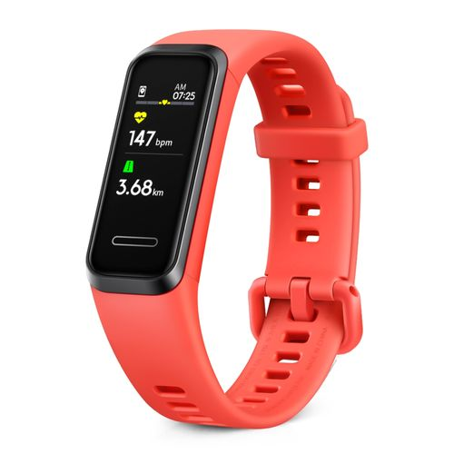 Smart band  Huawei 4 roja