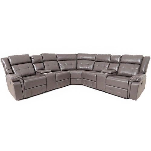 Sala seccional reclinable