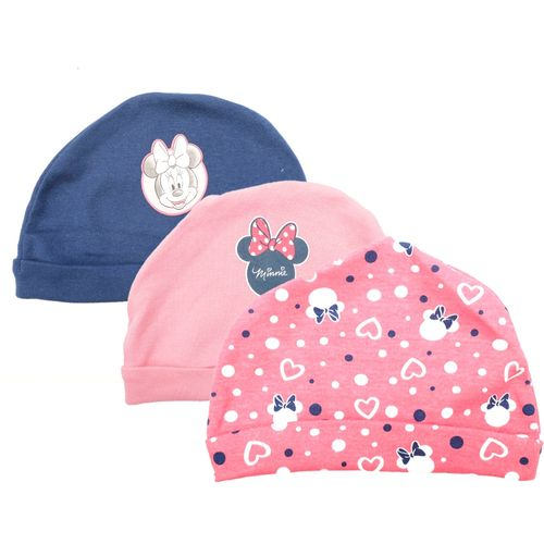 3 pack gorros - minnie dot
