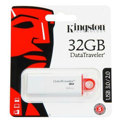 Usb data traveler g4 32gb rojo