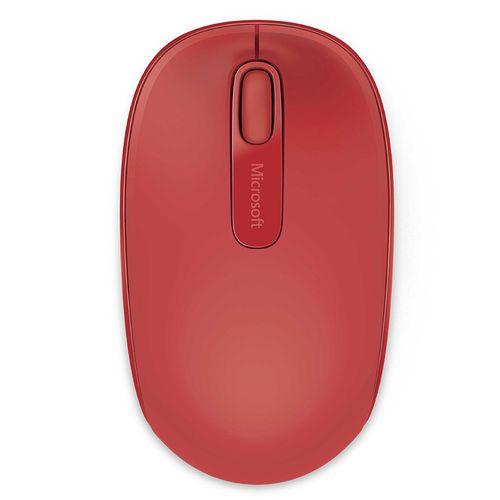 Mouse Microsoft 1850 inalámbrico rojo