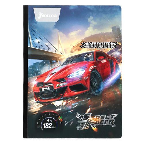 Cuaderno cos doble linea street racer 95 100h