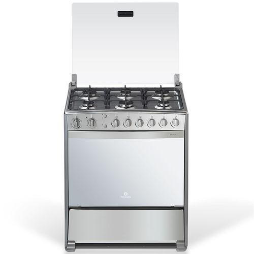 Cocina a gas 32p acero en c elect quem y horno