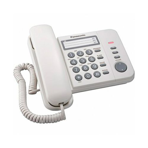 Telefono alambrico con altavoz - blanco