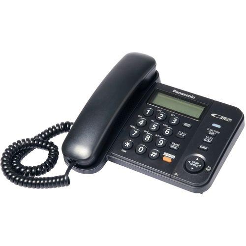 Telefono alambrico con altavoz - negro