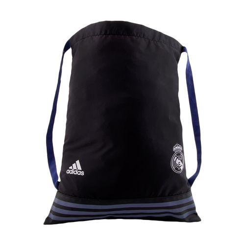 Maletin real madrid football negro, azul y blanco ns