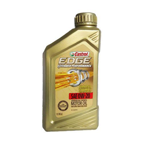 Aceite full sintético para motor vehículos gasolina.
