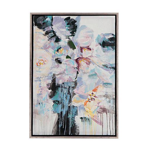 Cuadro abstracto 65x95cm con marco