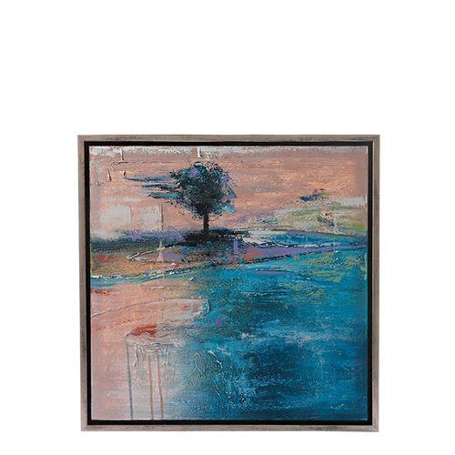 Cuadro abstracto 65x65cm con marco