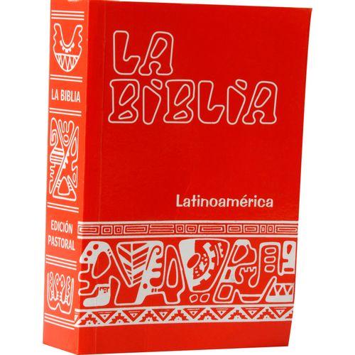 Biblia latino/cana bolsillo nacar