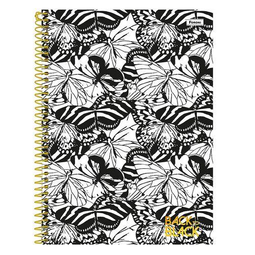 Cuaderno 1/8 back to black 96h rayado