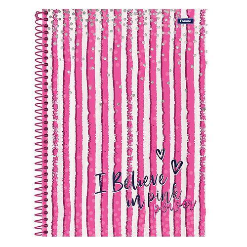 Cuaderno 1/8 pink power 96h rayado