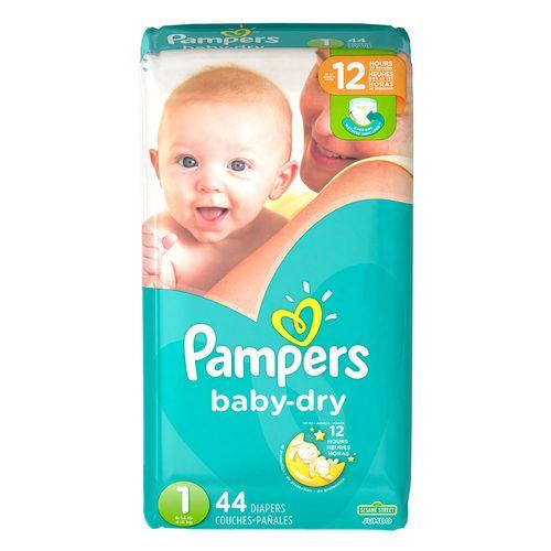 Pañales baby dry talla 1