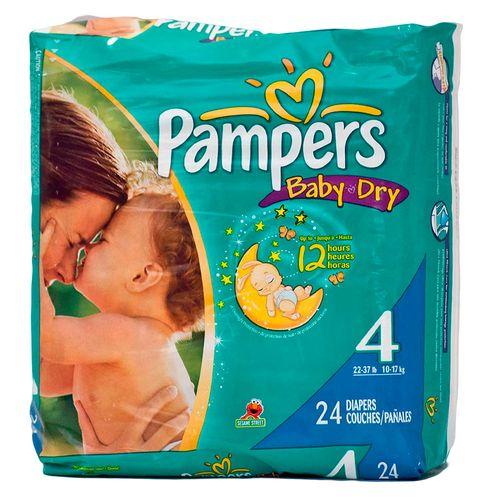 Pañales baby dry talla 4