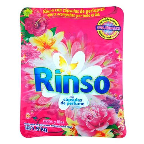 Detergente rosas y lilas