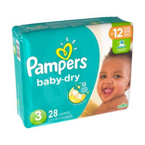 Pañales baby dry talla 3