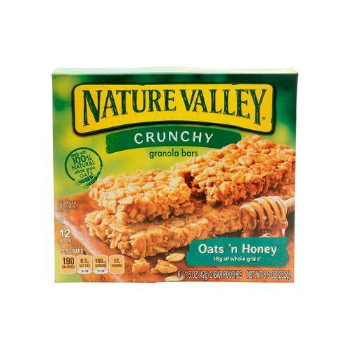 Barra natural crunchy oats honney