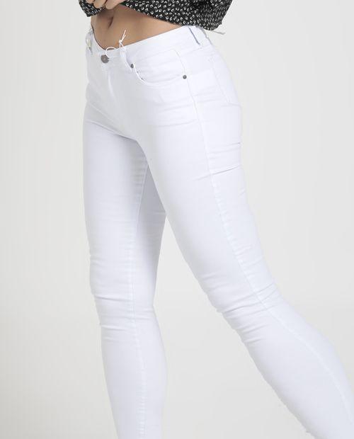 Jeans skinny sólido