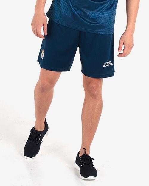 Pantalón corto azul