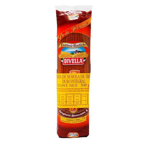 Pasta spaghetti integral