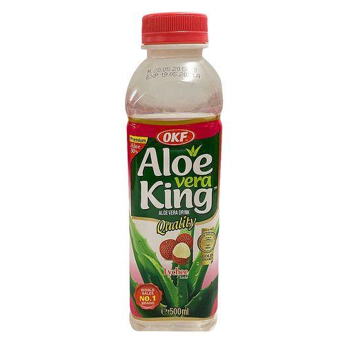 Bebida de aloe vera lichee