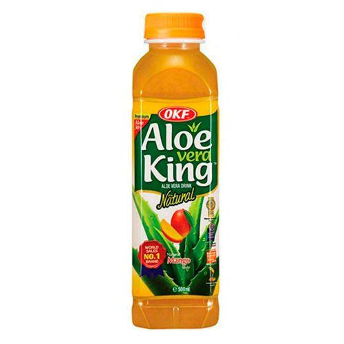 Bebida de aloe vera mango