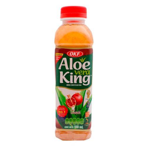 Bebida de aloe vera granada