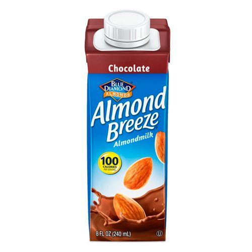 Leche de almendras sabor chocolate