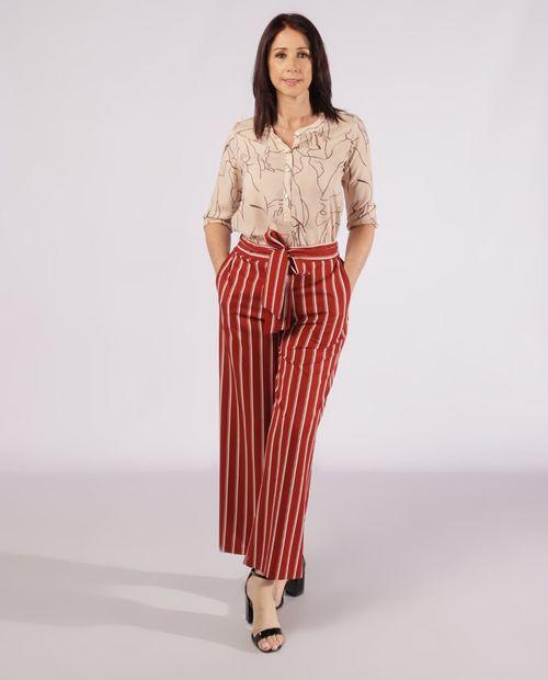 Pantalón clásico rayado