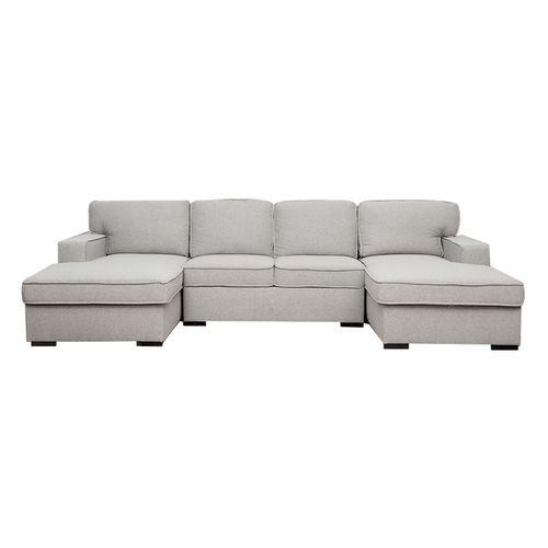 Sala seccional con almacenaje y sofa cama
