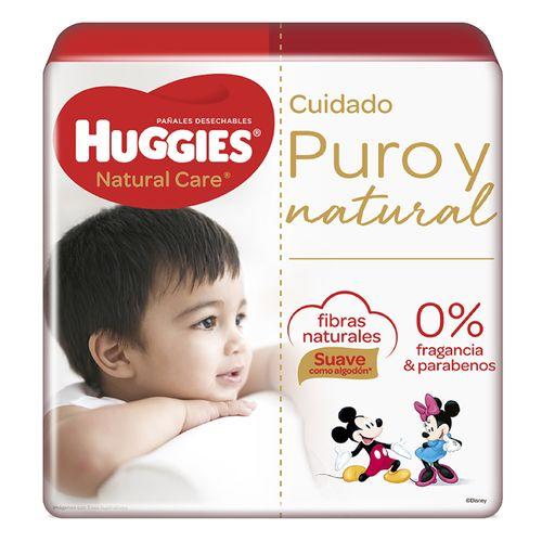 Pañales Huggies Natural Care - talla XG