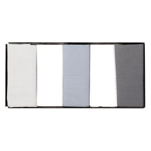 5pk pañuelos gris