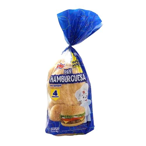 Pan para hamburguesa Bimbollo