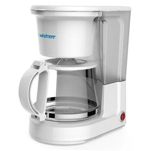 Cafetera blanca 8 tazas