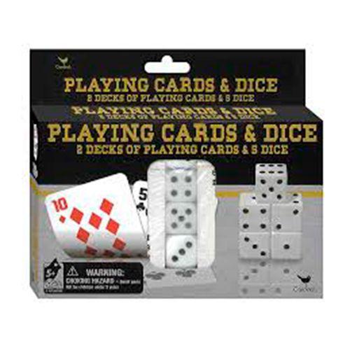 Juego de cartas con dados