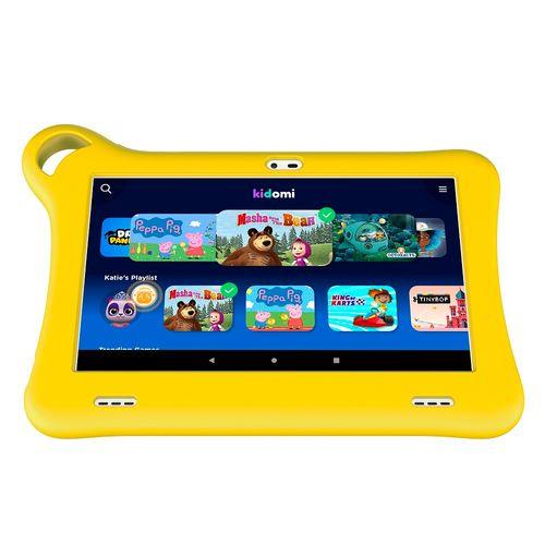 """Tablet  para niños Tkee amarillo 7"""""""