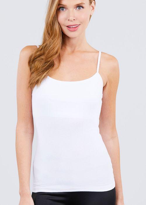 Blusa de tirantes  blanco active basic