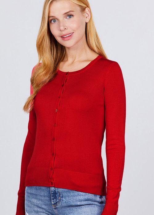 Cardigan  vip dark red