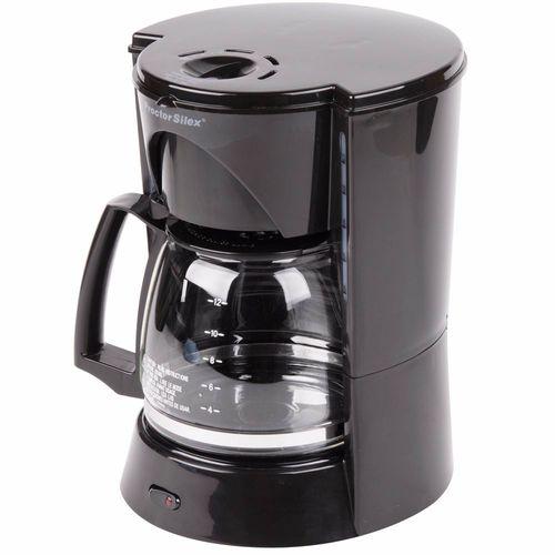 Cafetera 12tz negra