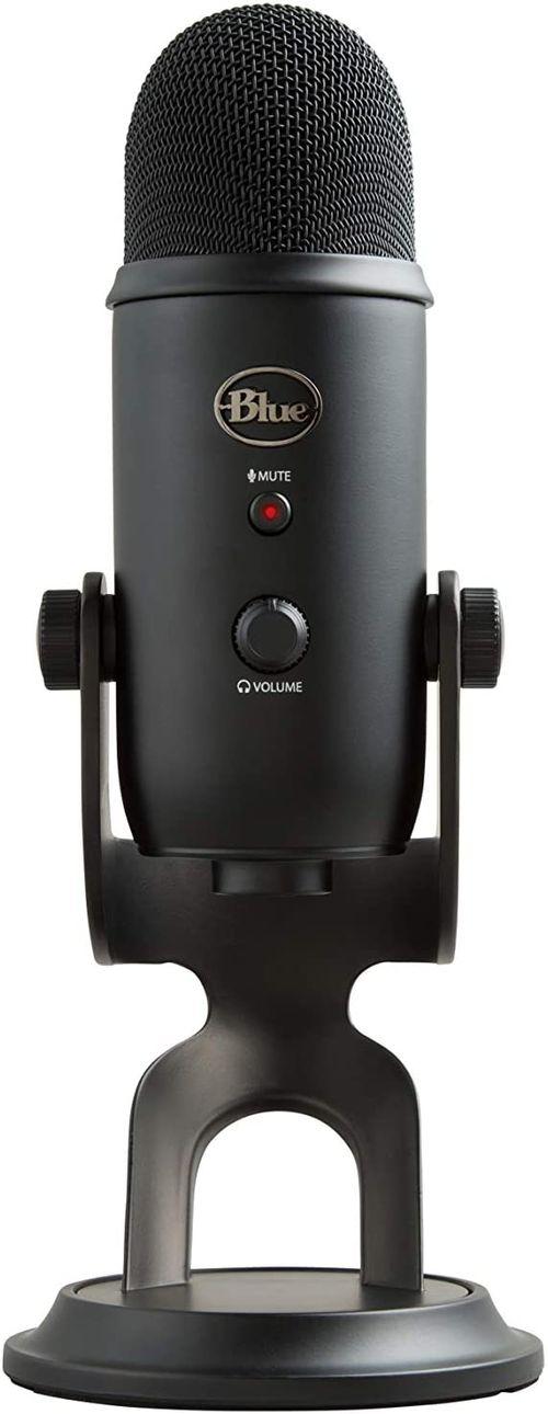 Micrófono  para streaming USB Blue Yeti