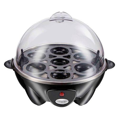 Maquina para cocinar huevos 3 en 1 negro
