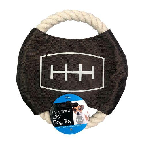 Juguete de cuerda de perro de felpa de tema deportivo